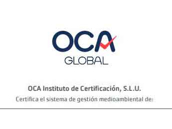 CERTIFICACION OCA GLOBAL